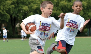 New York NFL Alumni Hero Youth Football Camps    : New York NFL Alumni Heroes Non-Contact Instructional Youth Football Camps, Five-Day Full or Half Day Option, Ages 6-14.