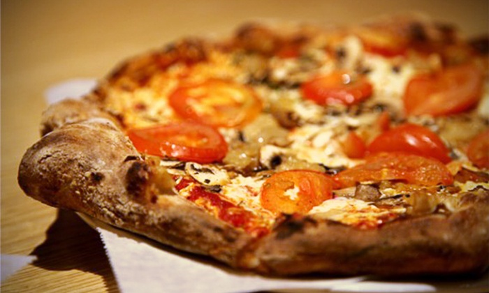 Urban Chow craft pizza & eats - Multiple Locations: $185 for  Catered Artisan Pizza for 20 People ($375 Value)