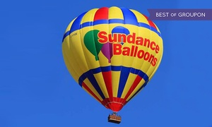 Sundance Balloons: Hot-Air Balloon Ride for 1 or 2 on a Weekday Morning, Evening or Anytime from Sundance Balloons (Up to 38% Off)