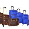 Adrienne Vittadini 4-Piece Deluxe 1680 Denier Luggage Set