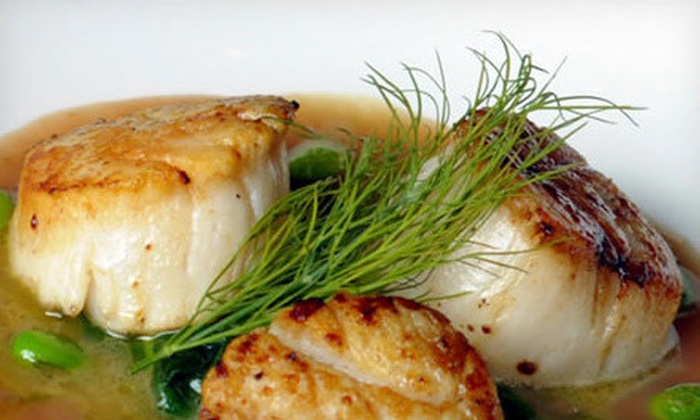 Park's Edge - Inman Park: $30 for Contemporary American Dinner for Two at Park's Edge (Up to $68 Value)