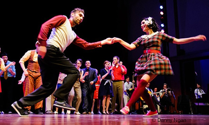 Camp Jitterbug and The Jump Session Show - Central Business District: $130 for Four-Day Beginner's Swing Dancing Event from Camp Jitterbug and The Jump Session Show ($274 Value)