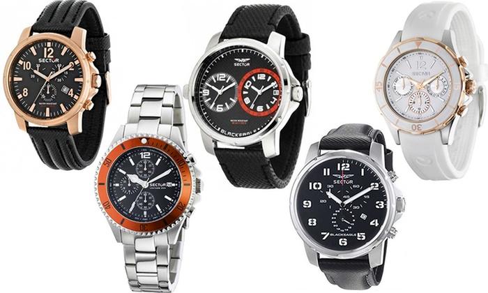 orologi sector uomo cinturino pelle