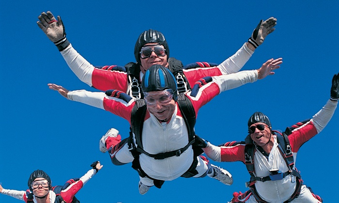 Air Indiana Skydiving Center - Delphi: Tandem Skydive  for One, Two, or Fourwith Videofrom Air Indiana Skydiving Center (Up to 47%Off)