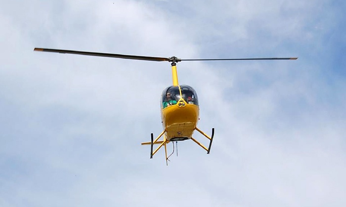 Old City Helicopters - Marathon: $167 for a Pigeon Key Helicopter Tour for Up to Three from Old City Helicopters (Up to $270 Value)