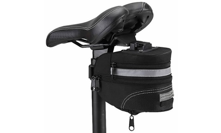 Bicycle Saddle Bag in Black for £4.99