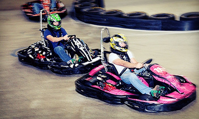 RushHour Karting - Garner: $15 for Two Eight-Minute Arrive & Drive Go-Kart Races at RushHour Karting ($40 Value)
