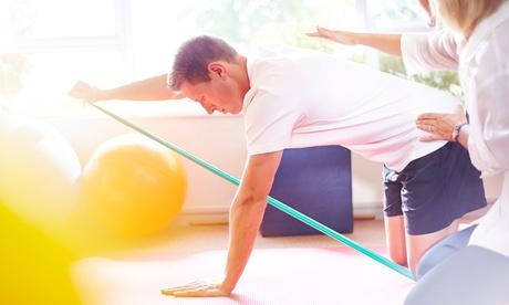 1, 2 o 4 sesiones de fisioterapia con 4, 8 o 12 sesiones de ejercicio personalizado desde 29,90 € en Clínica Saludarium