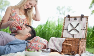Picknickity Picnics: Enchanting Picnic with Set-Up and Complimentary 10-Minute Photoshoot for R349 for Two at Picknickity Picnics (53% Off)