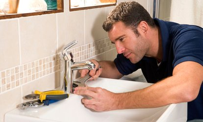 Two or Four Hours of <strong>Plumbing</strong> Service from Shy's Contractor (Up to 50% Off)