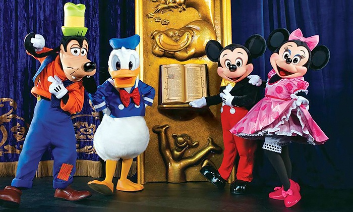 """Disney Live! presents Three Classic Fairy Tales"" Presented by Stonyfield YoKids Organic Yogurt - Sun National Bank Center: ""Disney Live! presents Three Classic Fairy Tales"" Presented by Stonyfield YoKids Organic Yogurt (Save Up to 49%)"