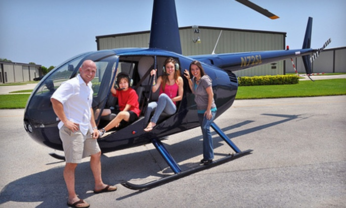 Boca Raton Helicopters - Boca Raton: $130 for Helicopter Ride for Up to Three People at Boca Raton Helicopters (Up to $255 Value)
