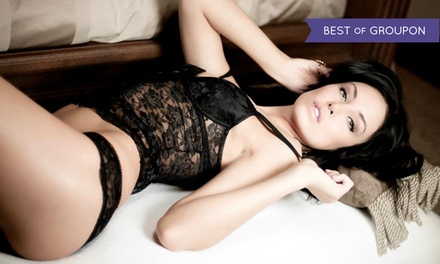 $99 for a Boudoir Photography Package with One Print from Aubrey Brower Photography ($300 Value)