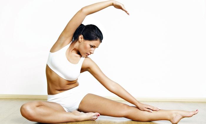 Dharma Yoga Evanston - Evanston: 15 or 30 Classes at Dharma Yoga Evanston (78% Off)