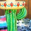 Cactus Birdbath