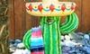 Cactus Birdbath: Cactus Birdbath