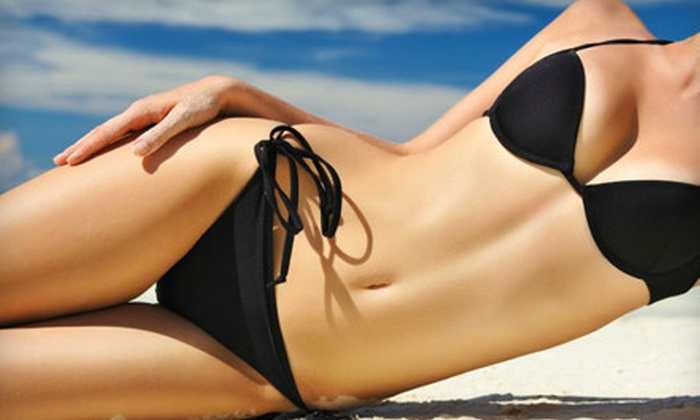 Honey Buns - West Beyer: One or Two Airbrush-Tanning Sessions or One Bikini Sugar Hair-Removal Treatment at Honey Buns (Up to 59% Off)