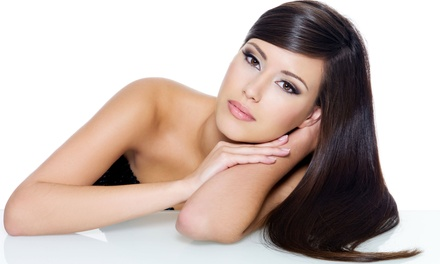 Haircut with Deep-Conditioning Treatment and Optional Partial or Full Highlights at Salon 755 (Up to58%Off)