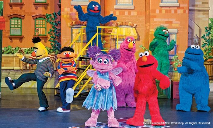 "Sesame Street Live: ""Let's Dance!"" at Star Plaza Theatre - Star Plaza Theatre: Sesame Street Live ""Let's Dance!"" at Star Plaza Theatre on April 24–26 (Up to 41% Off)"