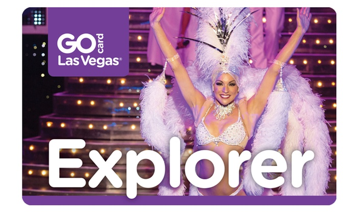 Go City Card: Go Las Vegas Card Multi–Attraction Pass with Admission to 3 or 5 Attractions from Choice of Many Options