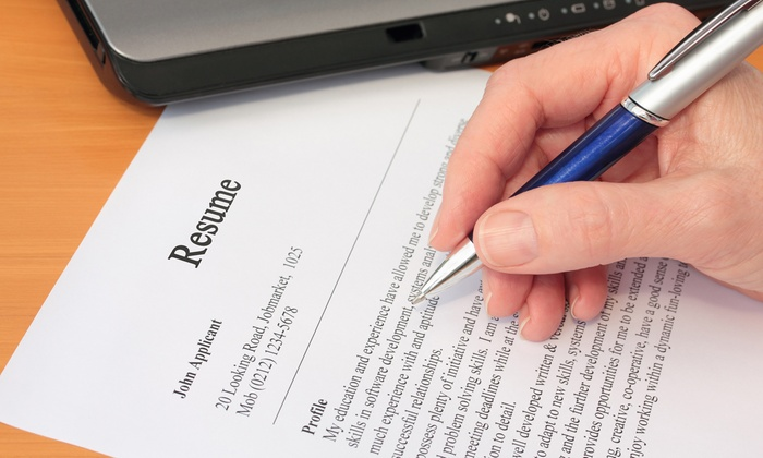 Resume Services Resume Writing Services Groupon