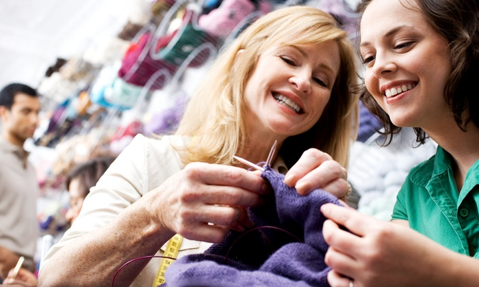Knit Knacks - Worthington Mall: Six Weeks of Beginners Knitting Classes for One or Two at Knit Knacks (Up to 58% Off). Six Options Available.