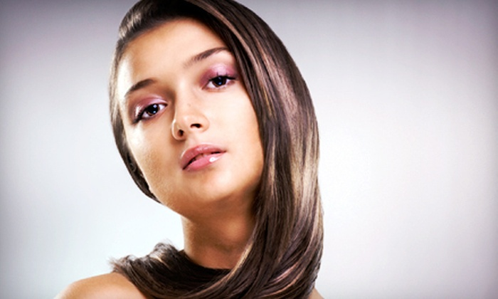 A Salon and Spa - Speedway: $16 for a Salon Blowout at A Salon and Spa ($35 Value)