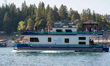 2-, 3-, or 6-NT Summit Houseboat Stay or 3-Night Grand Sierra Stay for Eight at Bridge Bay at Shasta Lake in Redding, CA