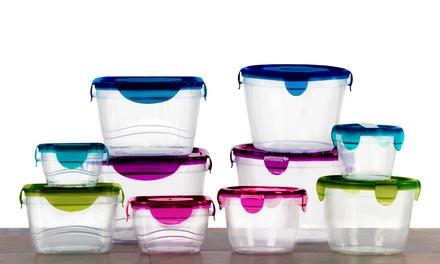 10 Piece Plastic Food Storage Se Groupon Goods