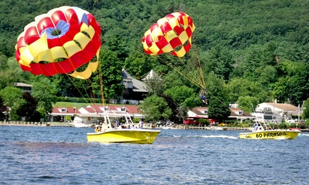 Parasail Ride for Two or Three at Parasailing Adventures (Up to 45% Off)