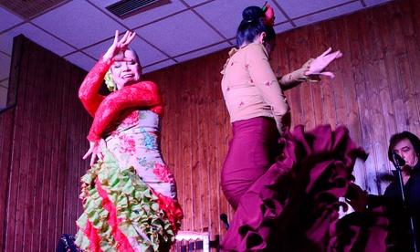 Espectáculo flamenco con copa y/o cena para 2 o 4 personas desde19,95 € en Taberna Flamenca El Cortijo