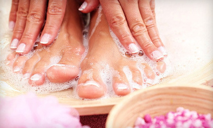 Temple of Beauty Salon & Spa - Bayridge,Fort Hamilton: One or Three Mani-Pedis at Temple of Beauty Salon & Spa (Up to 57% Off)