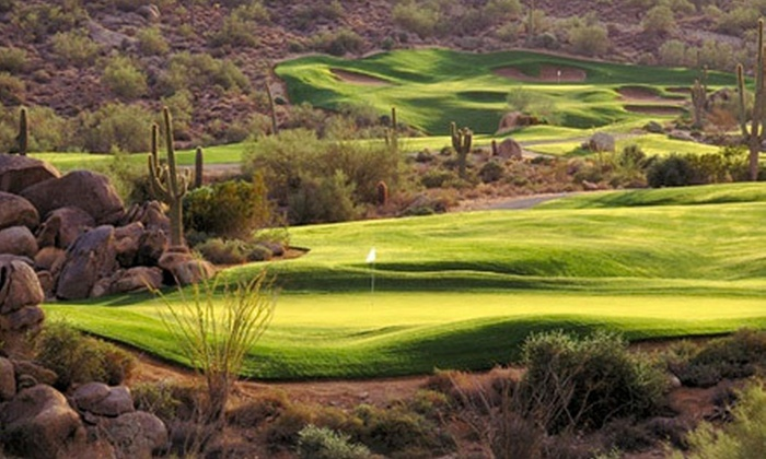 Jim McLean Golf Schools - SunRidge Canyon Golf Club : Golf Packages with Long- and Short-Game Lessons and Option for Playing Lesson at Jim McLean Golf Schools (Up to 69% Off)