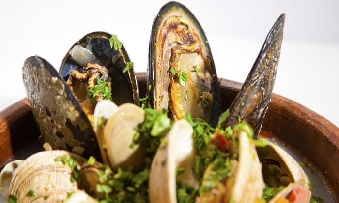 Spazio - East Braintree: Contemporary Mediterranean Cuisine at Spazio (50% Off). Two Options Available.