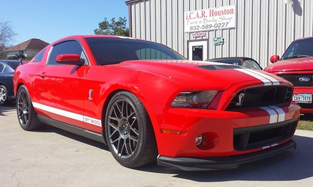 Paint and Dent-Repair Services at i.C.A.R. Houston Paint & Body (Up to 50% Off). Two Options Available.