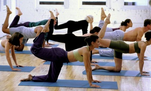 Bikram Hot Yoga San Mateo: 10 Classes or One Month of Unlimited Classes at Bikram Hot Yoga San Mateo (Up to 77% Off)
