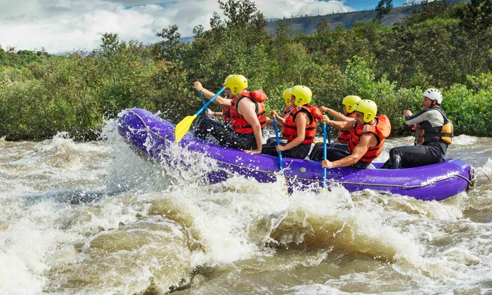 SideTour - Leisure - South-Lake Union: Rafting Day-Trip Down the Wenatchee or Skykomish River, Plus Cookout and Roundtrip Transportation (Up to 29% Off)