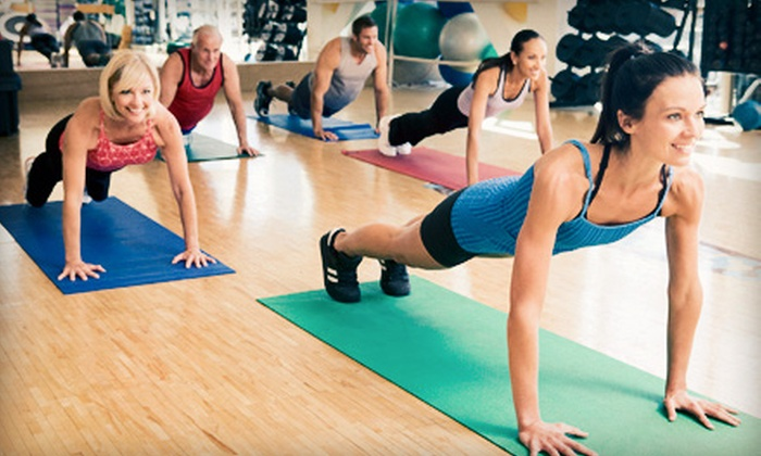 Square 1 Fitness - Multiple Locations: 4-, 8-, or 12-Week Boot-Camp Package at Square 1 Fitness (Up to 89% Off)