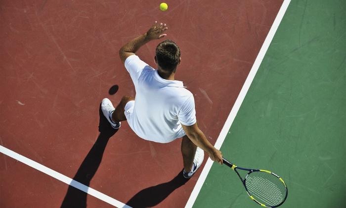 KS Tennis - KS Tennis: Two Kids Lessons or Two or Four Adult Tennis Lessons at KS Tennis (Up to 49% Off)