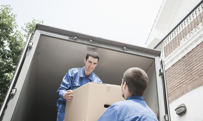 Vella Moving - Los Angeles: Three Hours of Moving Services with Two Movers and One Truck from VELLA MOVING (51% Off)