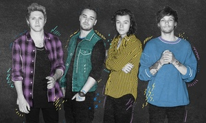 Honda Civic Tour presents One Direction: Honda Civic Tour Presents One Direction at Ford Field on Saturday, August 29 (Up to 70% Off)