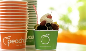 Peachwave of Watertown: $12 for 4 Groupons, Each Good for $5 Worth of Frozen Yogurt at Peachwave of Watertown ($20 Total Value)