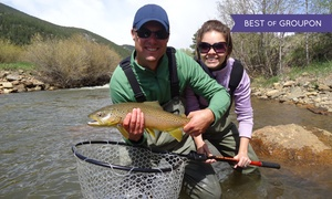 5280 Angler: $272 for a Fly-Fishing Trip for Two with Guide, Equipment, and Lunch from 5280 Angler ($375 Value)