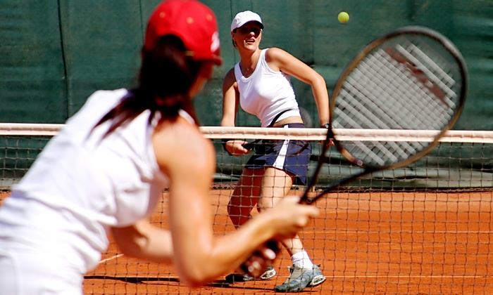 North Shore Towers Country Club - Tennis Courts - Long Island: One or Two 60-Minute Private Tennis Lessons at North Shore Towers Country Club (Up to 56% Off)