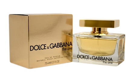Dolce & Gabbana The One Eau de Parfum for Women; 2.5 Fl. Oz.