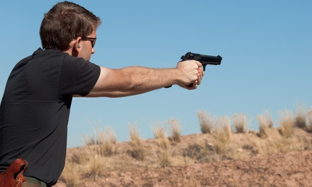 Concealed-Handgun-Permit Class or Advanced Handgun Class from 2nd Freedom Firearms & Consulting (Up to 43% Off)