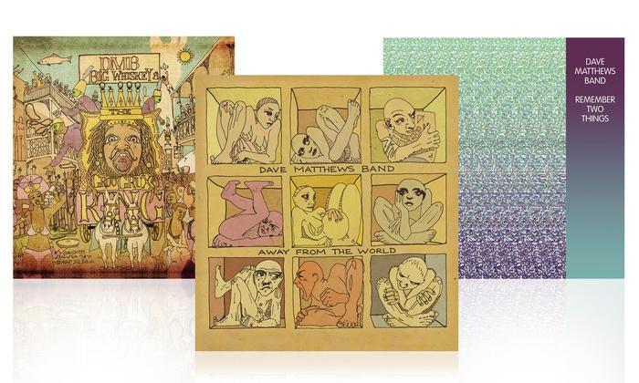 Dave Matthews Band Vinyl Bundle: Dave Matthews Band Vinyl Bundle