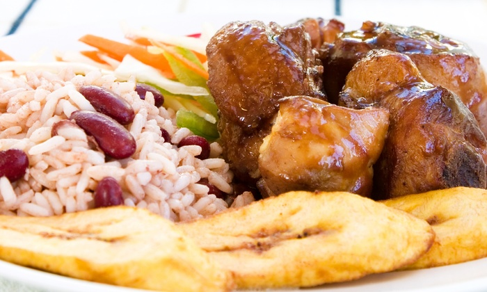 Caribbean Spoon - Cloverdale: Caribbean Food at Caribbean Spoon (50% Off). Two Options Available.