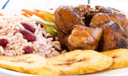 Caribbean Food at Caribbean Spoon (50% Off). Two Options Available.