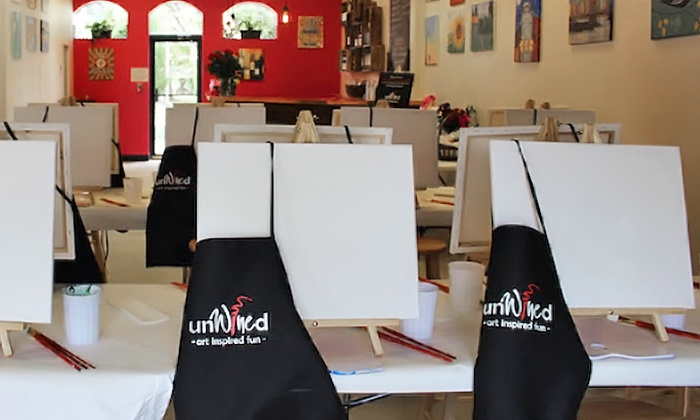 unWined - DTC: Painting and Sipping Classes at unWined (Up to 52% Off)